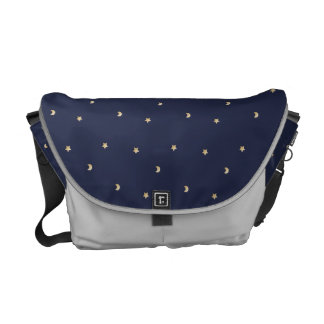 Starry Night Pattern Courier Bag