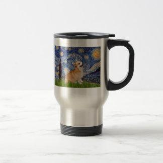 Starry Night - Pembroke Welsh Corgi 7b Coffee Mugs