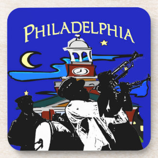 Starry Night Philadelphia Band Coasters