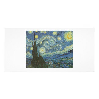Starry Night Photo Card