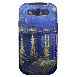Starry Night Rhone by Van Gogh Samsung Galaxy S3 Case