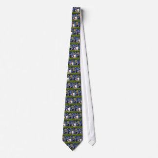 Starry Night- Saint Bernard Tie