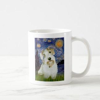 Starry Night - Sealyham Terrier (L) Coffee Mug