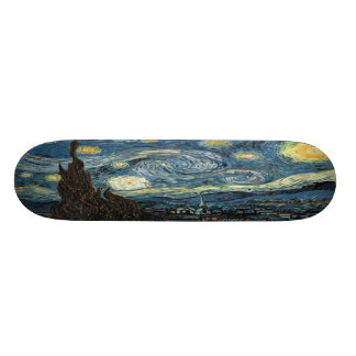 Starry Night Skateboard Decks