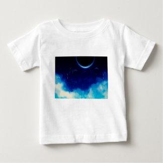 Starry Night Sky Baby T-Shirt