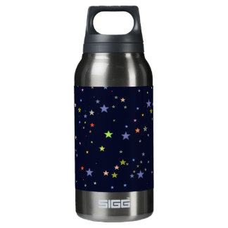 starry night sky insulated water bottle