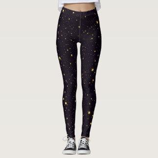 Starry Night Sky Leggings