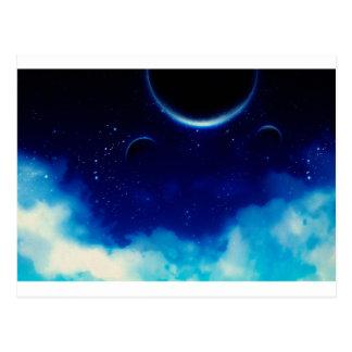 Starry Night Sky Postcard