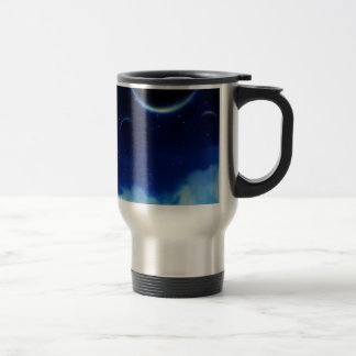 Starry Night Sky Travel Mug
