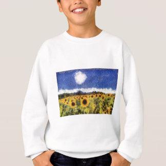 Starry Night Sunflowers Sweatshirt