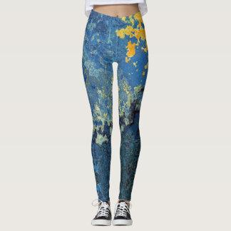 Starry Night Swirl Leggings