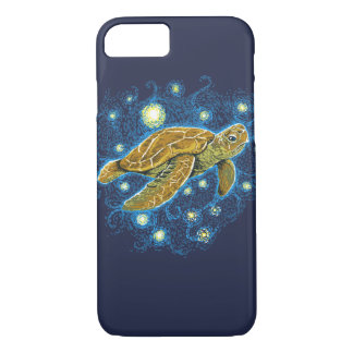 Starry Night Turtle phone case