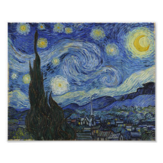 Starry Night Van Gogh Art Photo