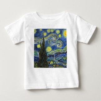 Starry Night, Van Gogh Baby T-Shirt