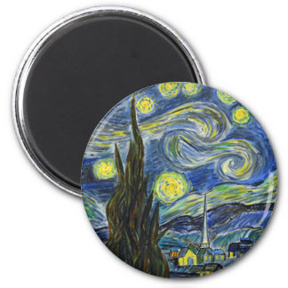 Starry Night, Van Gogh Magnet