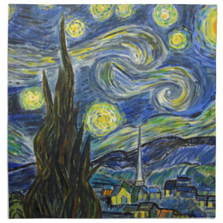 Starry Night, Van Gogh Napkin