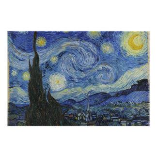 Starry Night Van Gogh Art Photo