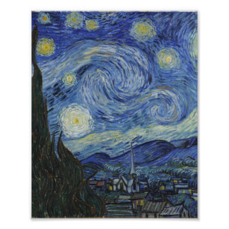 Starry Night Van Gogh Photographic Print