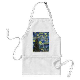 Starry Night, Van Gogh Standard Apron