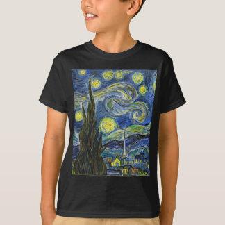 Starry Night, Van Gogh T-Shirt