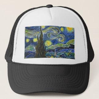 Starry Night, Van Gogh Trucker Hat