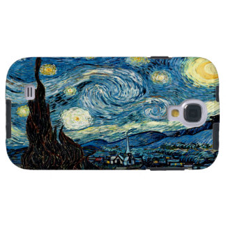 Starry Night - Van Gogh - Vibe Samsung Galaxy S4 Galaxy S4 Case