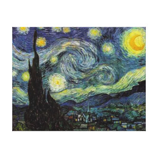 Starry Night, Vincent van Gogh Gallery Wrapped Canvas