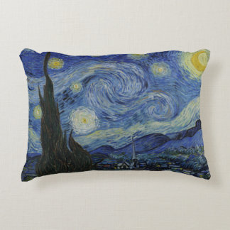 Starry Night Vincent van Gogh Decorative Cushion