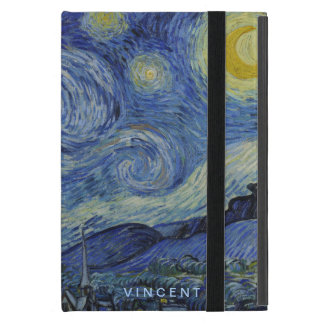 Starry Night Vincent van Gogh Personalized Case For iPad Mini