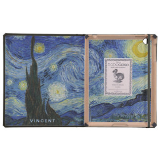 Starry Night Vincent van Gogh Personalized iPad Covers