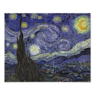 Starry Night - Vincent van Gogh Poster