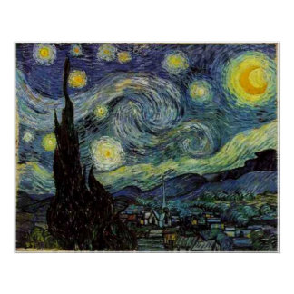 Starry Night,Vincent van Gogh Posters