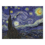 Starry Night - Vincent van Gogh Posters