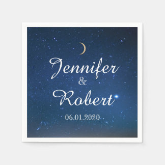 Starry Night Wedding Napkin Disposable Napkins