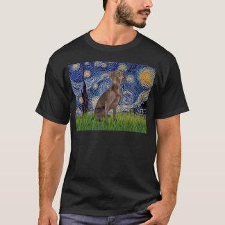 Starry Night - Weimaraner (Z) T-Shirt