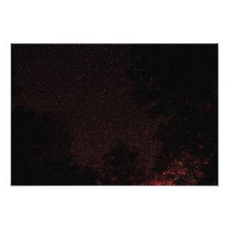 Starry night, West Virginia Photo