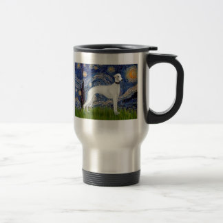 Starry Night - Whippet (11b) Travel Mug
