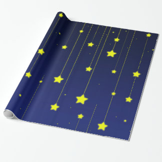 Starry Night wrapping paper