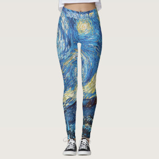 Starry Nights:  Go For It! Leggings