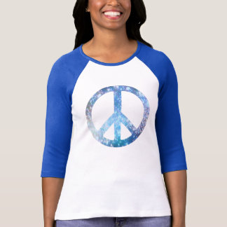 Starry Peace Sign T-Shirt