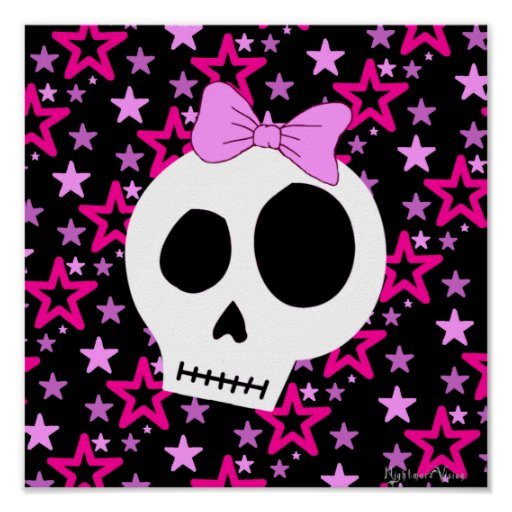 Starry Punk Poster