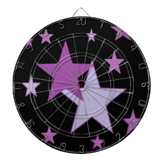 starry purple dart boards