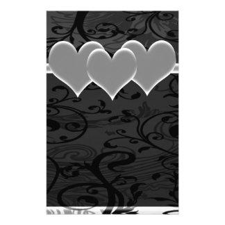 Starry Romance White Set Customized Stationery