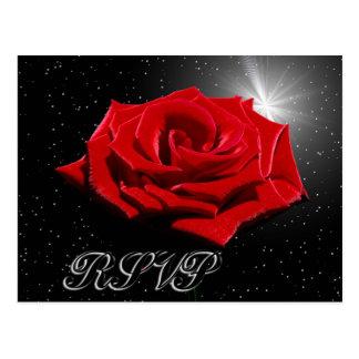 Starry Romantic Night Postcard