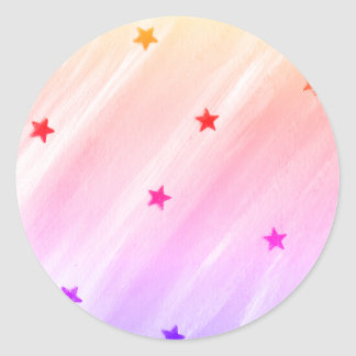 Starry Rounded Stickers
