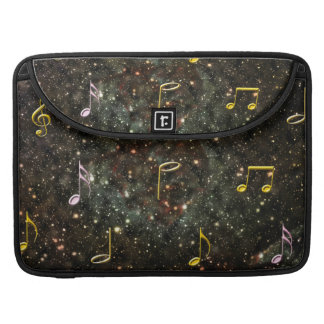 Starry Sky Musical Notes Music MacBook Pro Sleeve