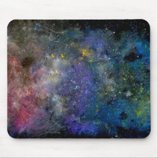 Starry sky - orion or milky way cosmos mouse pad