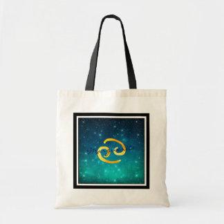 Starry Sky Zodiac Sun Sign Cancer Tote Bag
