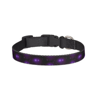 Starry space pet collar