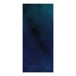 Starry Space Scene Custom Rack Cards